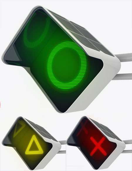 Solar-Powered Stoplights