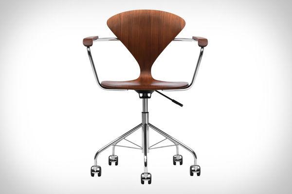 Slim-Waisted Office Seats