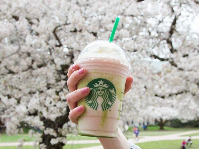 Sakura-Inspired Blended Beverages
