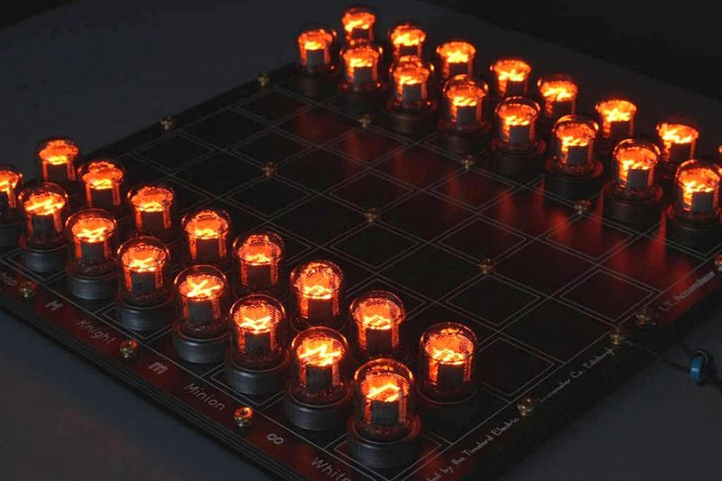 Glowing Electric Tube Games