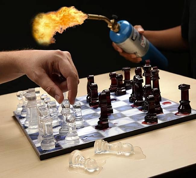 Frozen Chess Sets