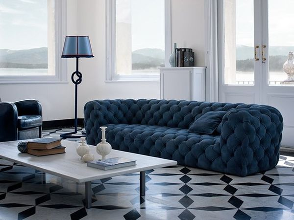 Entirely Tufted Luxe Couches