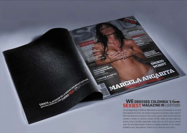 Leather Magazine Covers