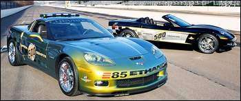 Indy 500 Green Ethanol Pace Car