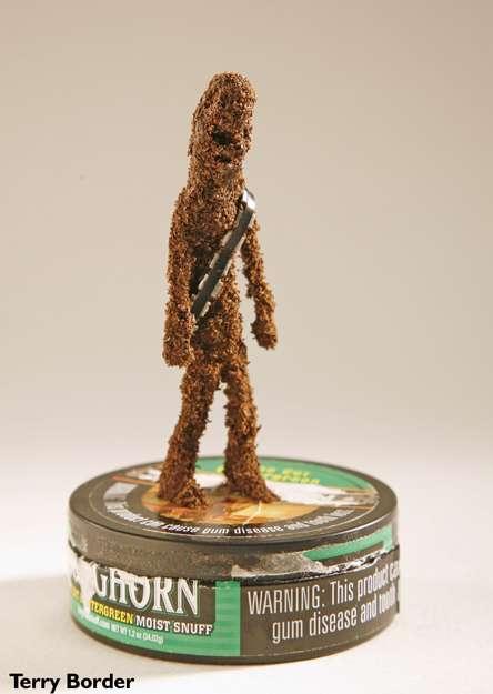 Chewie Tabacco Sculptures