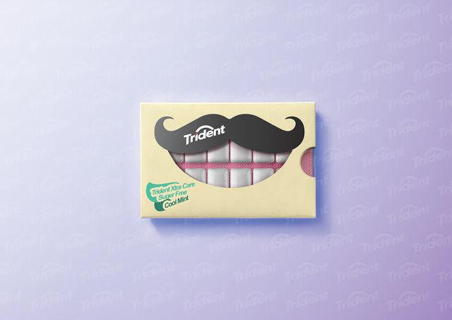 Grinning Gum Packaging