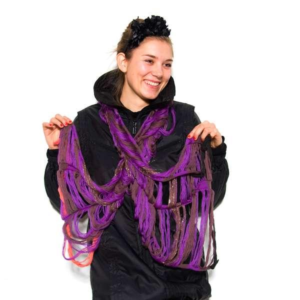 Colorful Draping Neckwear