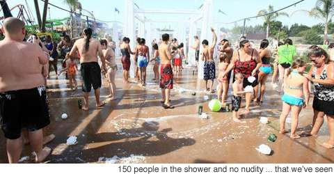 Giant Public Showers