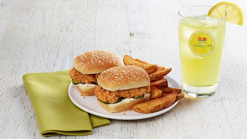 Snack-Sized Chicken Sandwiches