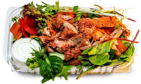 Tandoori Chicken Salads