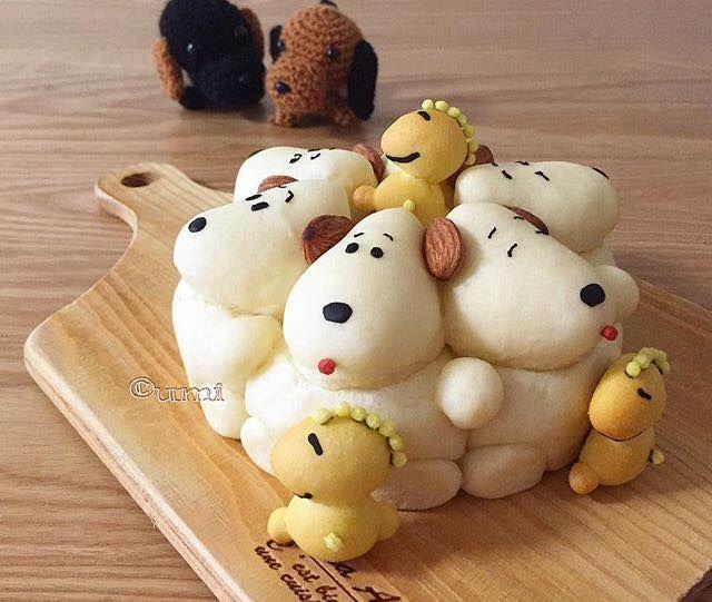 Sculptural Cartoon Breads