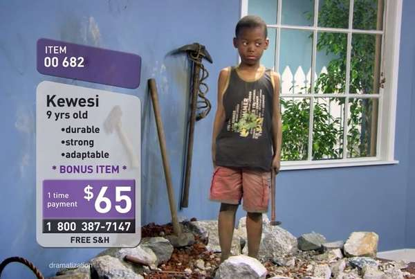 Child Slave Infomercials