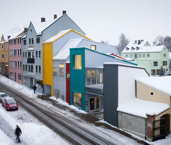 Colorful Toy-Inspired Architecture