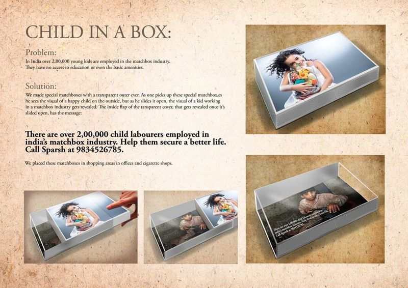 Child Labor-Exposing Matchboxes