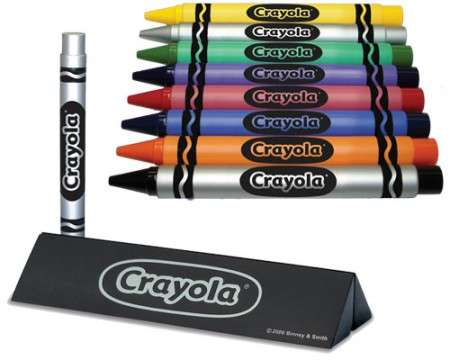 Fake Crayons for Adults