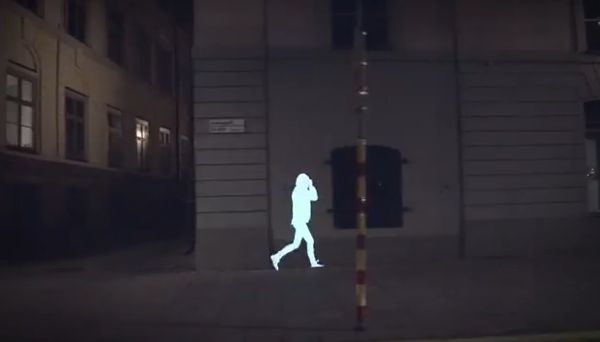 Ghostly Child Refugee Projections