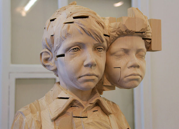 Evocative Child Sculptures