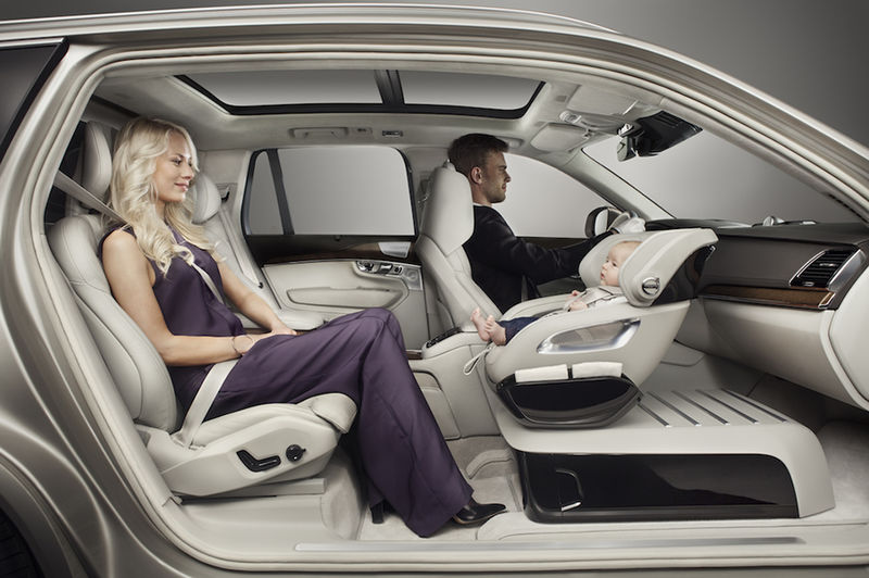 Up-Front Car Seats