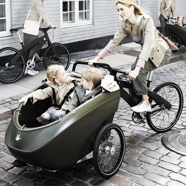 Sidecar-Like Bike Attachments