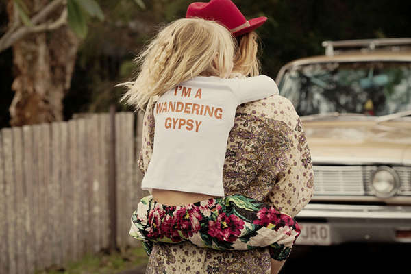 Gypsy-Inspired Kids Apparel