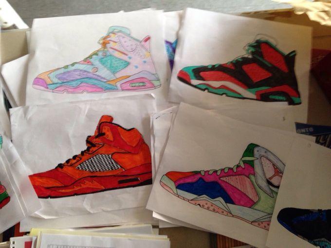Child-Designed Shoes