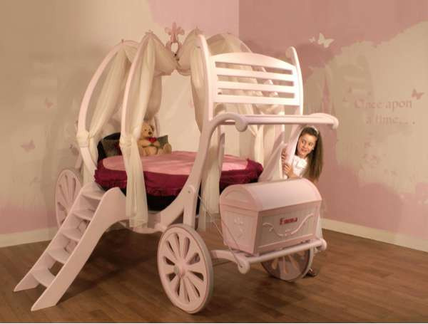 Bespoke Princess Beds - Treasured Dreams Carriage Beds (