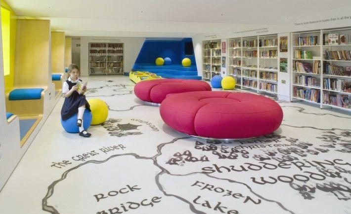 Imagination-Stimulating Libraries
