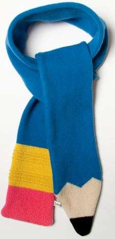 Children's Pencil Scarves