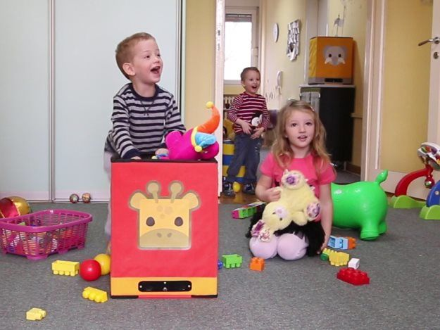 Connected Children's Toy Boxes