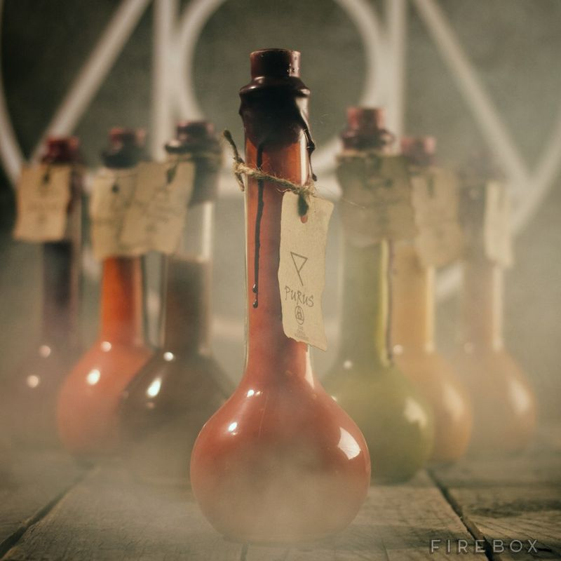Apothecary Chilli Bottles