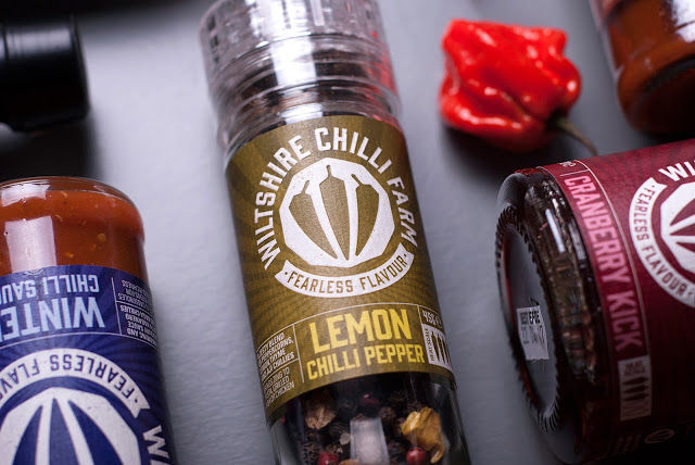 British Chilli Farm Branding
