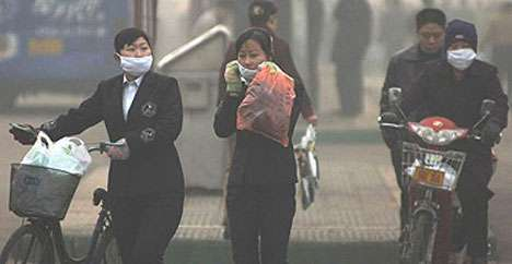 World Pressures China To Reduce Pollution