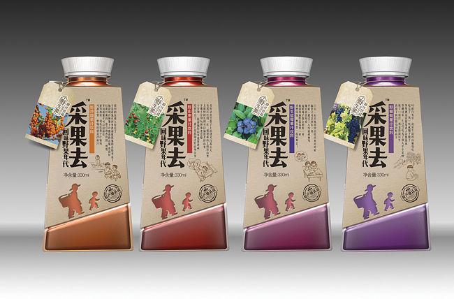 Wild Fruit Juice Branding