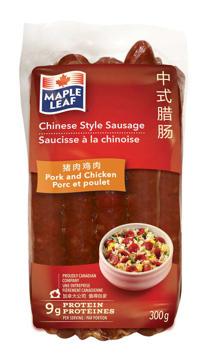 Canadian-Chinese Sausages