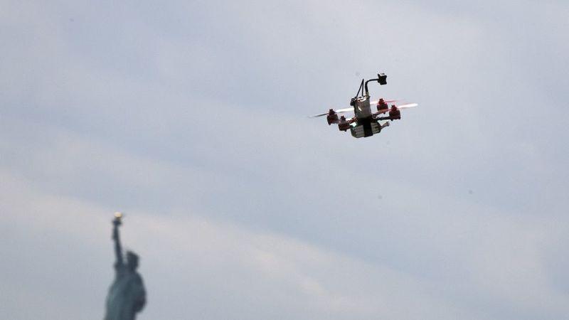 Burrito Delivery Drones