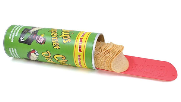 Cylindrical Chip Scoopers