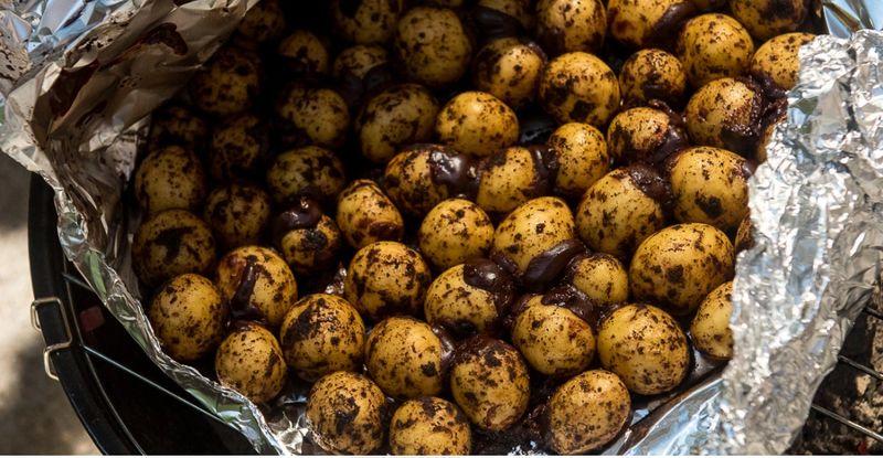 Chocolate Coffee Potatoes