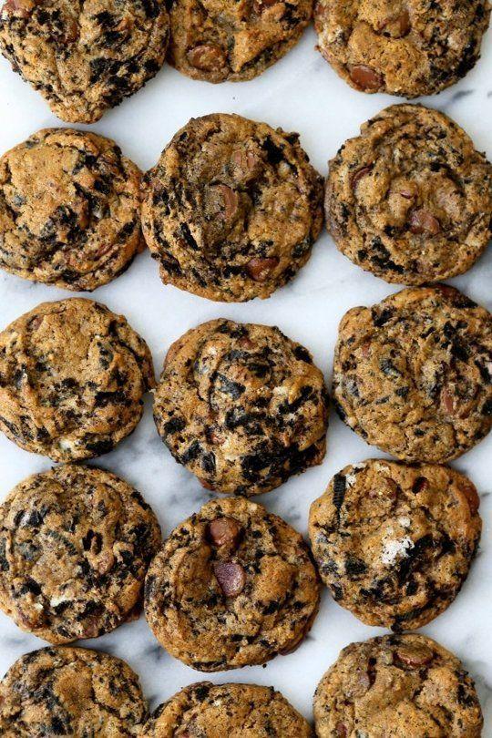 Milk-Infused Chocolate Cookies