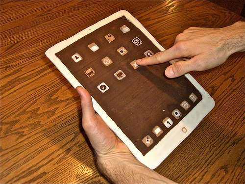 Chocolate iPad 2