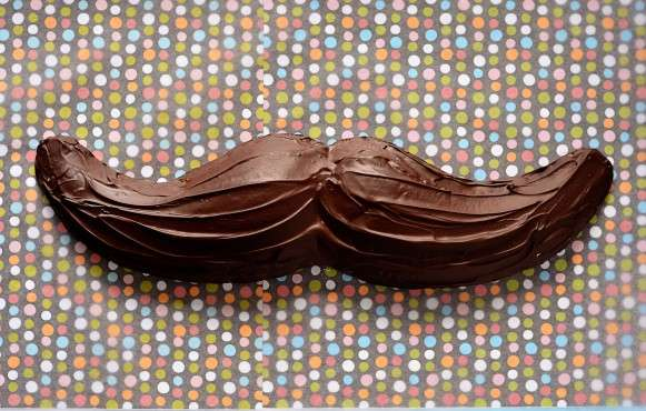 chocolate marshmallow moustaches