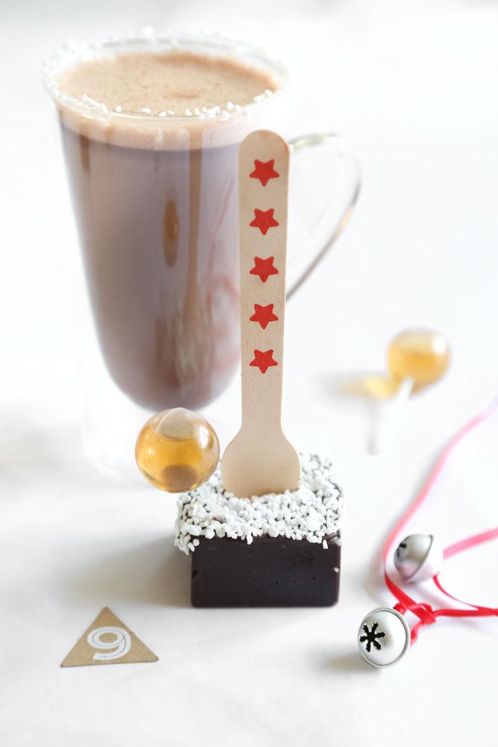 Boozy Hot Chocolate Bites