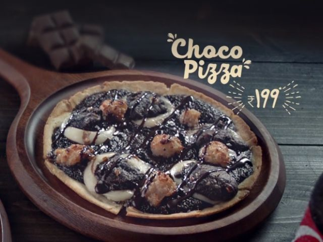 Chocolate Lover Pizzas