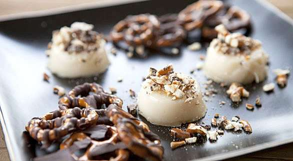 Salty Hazelnut Jello Shooters