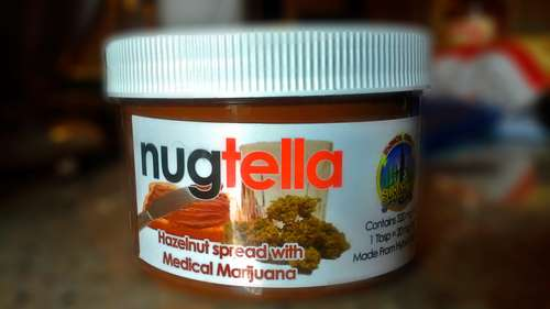 Cannabis Chocolate Spreads