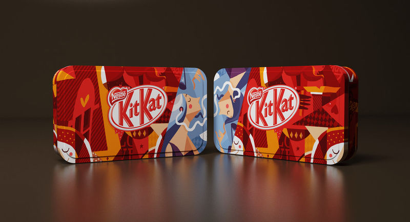 Special-Edition Chocolate Tins