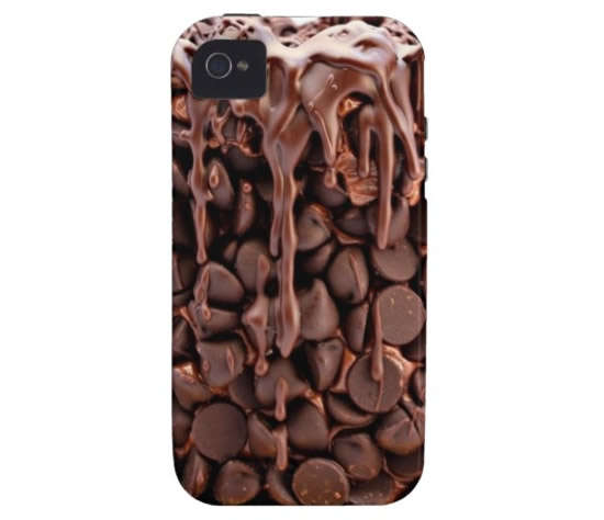 chocolate wasted cake iphone
