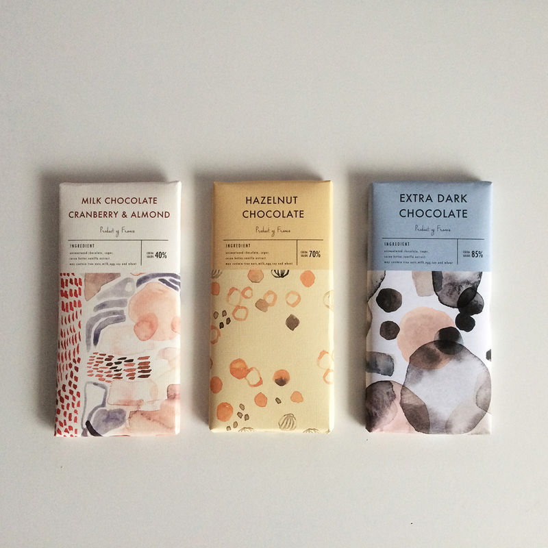 Watercolor Candy Packaging