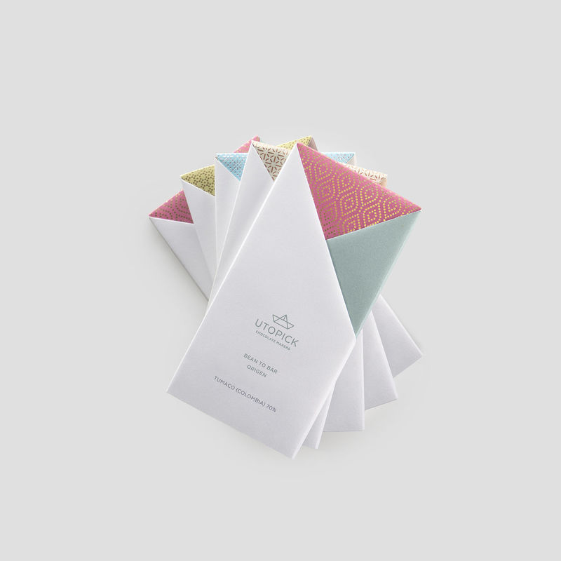 ornate origami chocolate packaging chocolates packaging