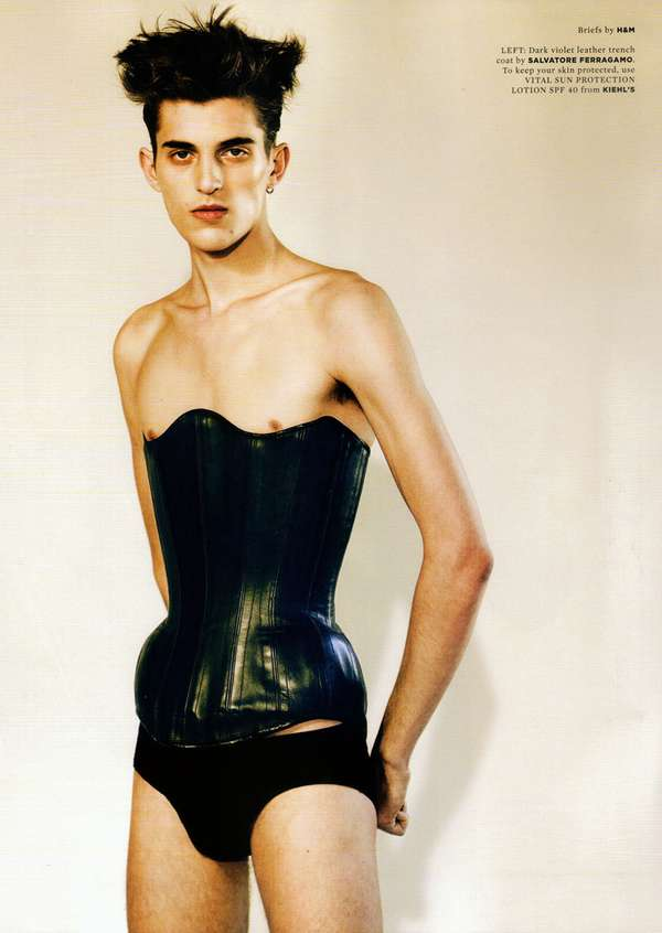 Femme Menswear Editorials