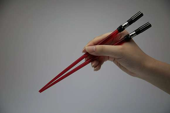 Glowing Chopsticks